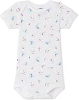 Petit Bateau Baby boy printed bodysuit