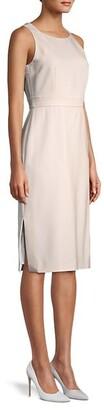 Max Mara Norcia Stretch-Virgin Wool Sheath Dress