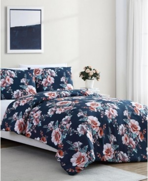 Shelley Vcny Home Floral 2-Pc. Twin Xl Duvet Cover Set Bedding
