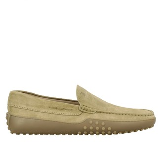 Tod's Gommini Moccasin In Suede