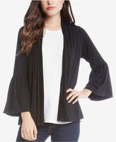Karen Kane Molly Ruffled-Sleeve Cardigan