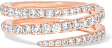 Anita Ko Coil 18-karat Rose Gold Diamond Ring