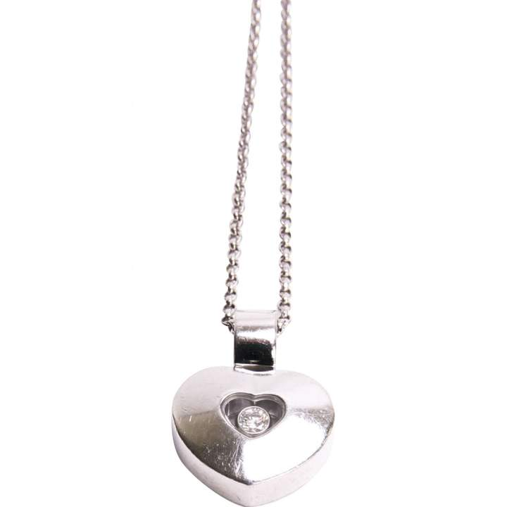 Chopard Silver White gold Necklace