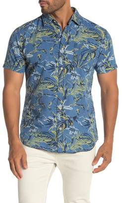 Jack and Jones Jax Floral Short Sleeve Slim Fit Hawaiian Shirt