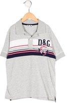 Dolce & Gabbana Boys' Logo Embroidered Polo Shirt