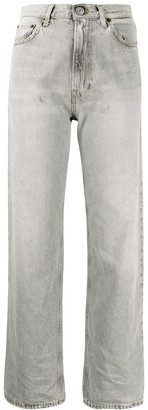 Haikure Mid-Rise Straight Leg Jeans