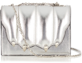 Marco De Vincenzo Paw-effect leather cross-body bag