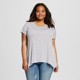Women's Plus Size Drapey Tee - Mossimo Supply Co. (Juniors')