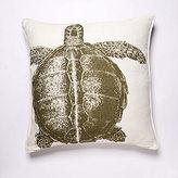 Turtle Lichen Linen Pillow