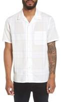 Theory Men's Havana Pincheck Slim Fit Sport Shirt