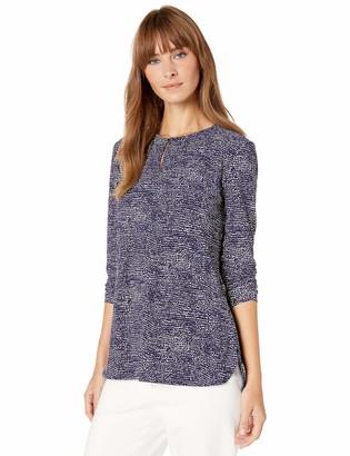 Anne Klein Women's Long Sleeve Knit Tunic