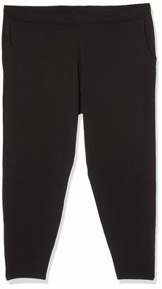 Simply Be Women's Ladies Stretch Jersey Tapered Trousers Regular