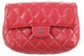 Chanel Quilted Lambskin Cosmetic Case