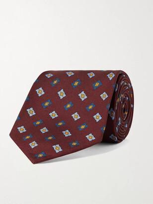 Rubinacci 8cm Printed Silk-Twill Tie