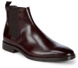 Bruno Magli Leather Chelsea Boots