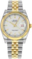 Rolex Men's m116233-0148 Datejust Silver Watch