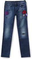 True Religion Big Boys 8-20 Rocco Patch Detail Slim-Fit Jeans