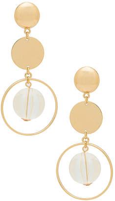 Ettika Double Circle Earrings