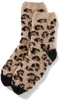 Old Navy Patterned Cozy Crew Socks for Women