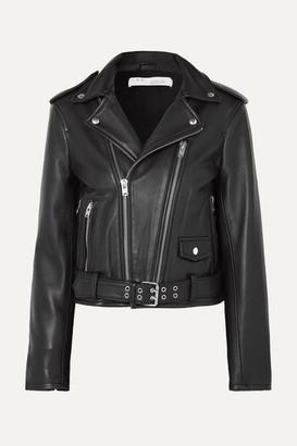 IRO Illusive Leather Biker Jacket - Black
