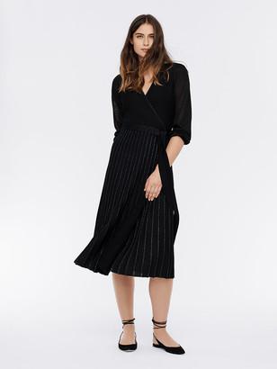Diane von Furstenberg Shelley Merino-Wool Wrap Dress