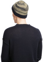 Valentino Wool-Cashmere Camouflage Hat