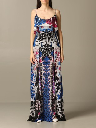 Just Cavalli Dress Long Printed Dress
