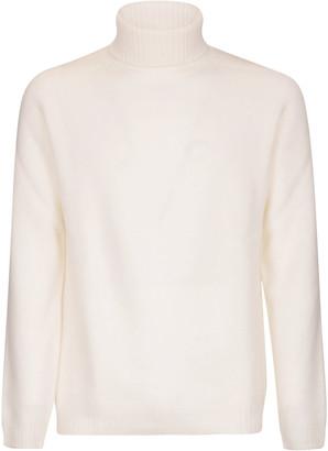 Eleventy Turtleneck Ribbed Sweater