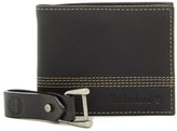 Timberland Quad Bifold Wallet & Key Fob 2-Piece Set