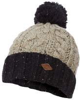MANTARAY Mantaray - Multi-Coloured Striped Bobble Hat