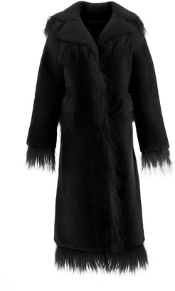 Saks Potts Shearling Coat