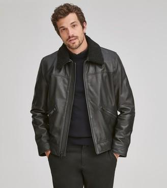 Andrew Marc   Final Sale Kilmer Leather Jacket