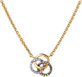 Links of London Treasured 18ct yellow gold and diamond necklace