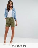 Vero Moda Tall D Ring Cargo Shorts
