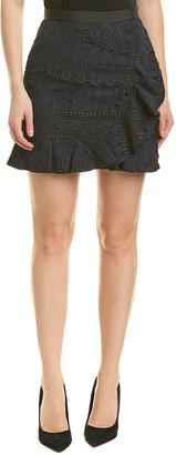Self-Portrait Lace Skirt