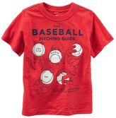 Carter's Baby Boy Baseball Pitching Guide Graphic Tee