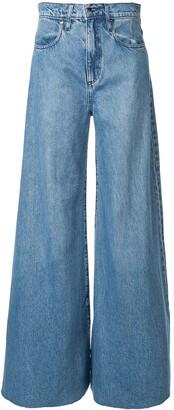 Nobody Denim Como wide-leg jeans