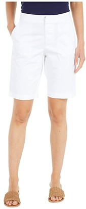 Tommy Hilfiger Adaptive Stretch Shorts with Easy Closure and Magnetic FLy (Bright White) Women's Shorts