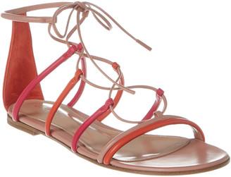 Gianvito Rossi Gladiator Leather Sandal