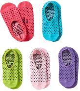 Pink Cookie Girls 5-pk. Dot Liner Socks