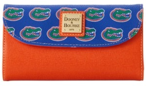 Dooney & Bourke Florida Gators Saffiano Continental Clutch