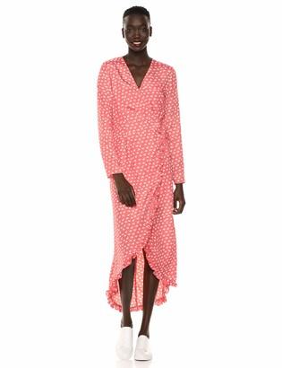 The Fifth Label Women's Kaleidoscope Long Sleeve Floral Maxi Wrap Dress