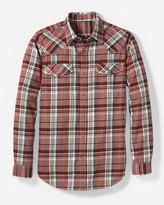 Eddie Bauer Men's Elkhorn® Plaid Shirt - Classic Fit