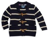 Andy & Evan Toddlers, Little Boys and Boys Striped Cotton Cardigan