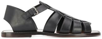 Silvano Sassetti Interwoven Strappy Sandals