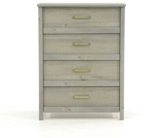 Foundry Select Canalou 4 Drawer Standard Chest Color: Mystic Oak