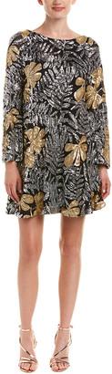 Badgley Mischka Belle By A-Line Dress