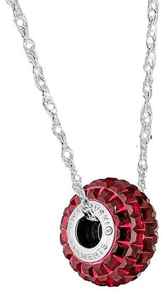 Swarovski Sevil 925 Women's Necklaces - Siam Be Charmed Necklace With Crystals
