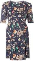 Vero Moda **Vero Moda Navy Floral Swing Dress