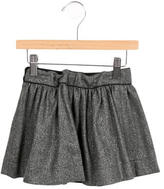 Bonpoint Girls' Metallic-Accented Wool Skirt